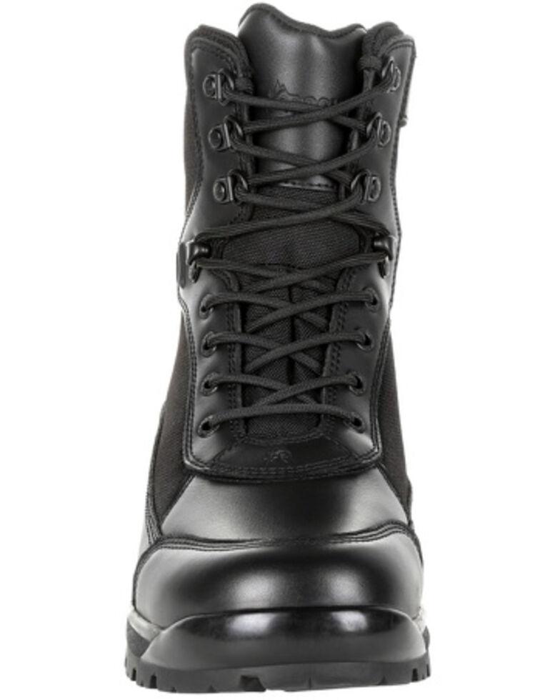 Rocky Youth Boys' X-Flex Public Service Work Boots - Soft Toe, Black, hi-res