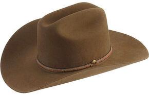 d32fdafecef29 Stetson Powder River 4X Buffalo Felt Cowboy Hat