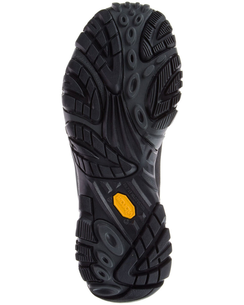 Merrell Men's MOAB Adventure Waterproof Hiking Boots - Soft Toe, Black, hi-res