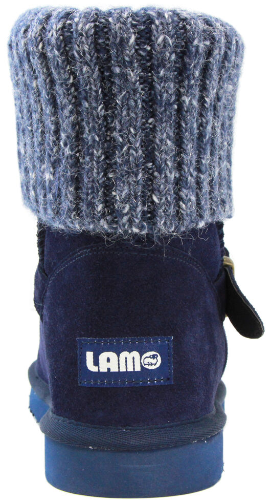 Lamo Footwear Women's Hurricane Boots - Round Toe, Navy, hi-res