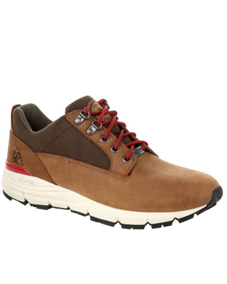 Rocky Men's Rugged Waterproof Outdoor Sneakers - Soft Toe, Brown, hi-res