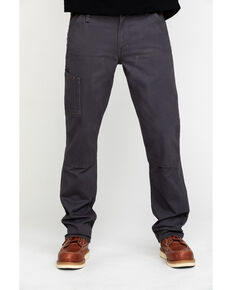 Ariat Men's Rebar M4 Made Tough Durastretch Double Front Straight Work Pants - Big , Grey, hi-res