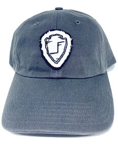 Lane Frost Women's Frontier Days Cheyenne Arrow Patch Ball Cap , Grey, hi-res