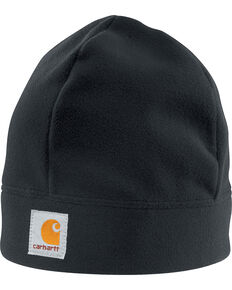 Carhartt Fleece Work Hat, Black, hi-res