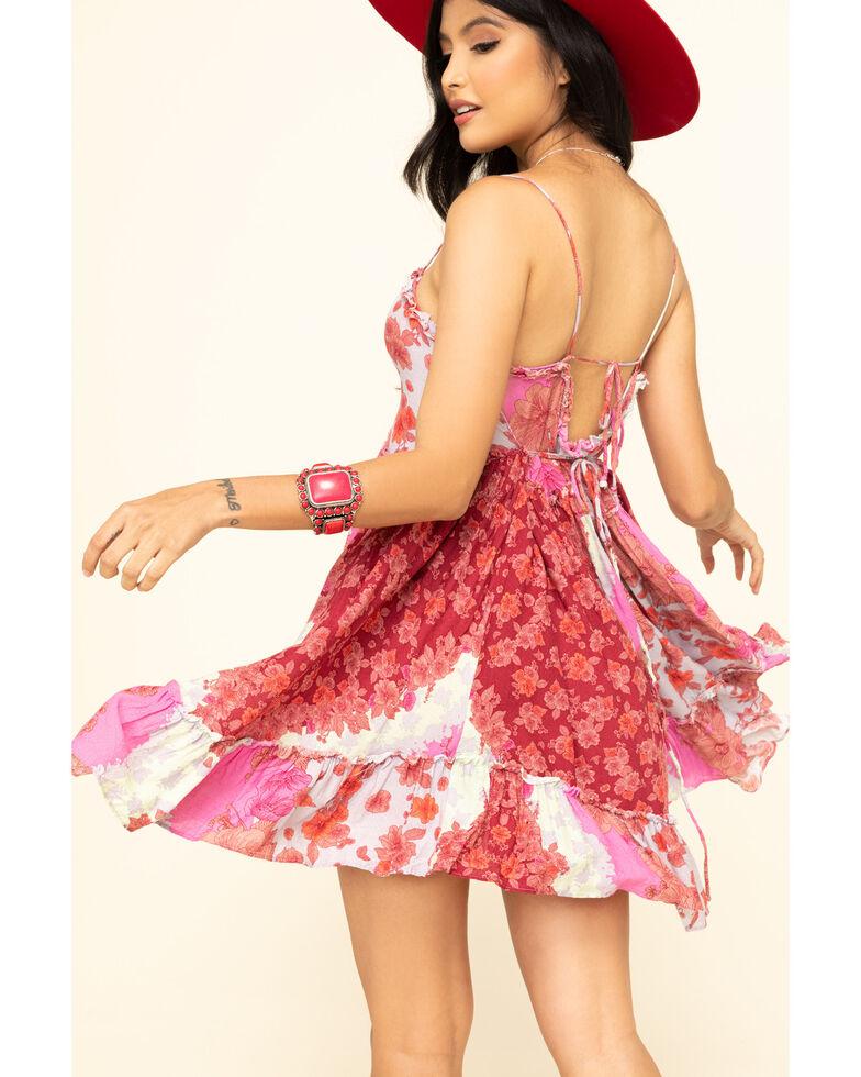 Free People Women's Summer Storm Slip Dress, Pink, hi-res