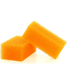 Boot Barn Ranch Hat Cleaning Sponges for Felt Hats, Orange, hi-res