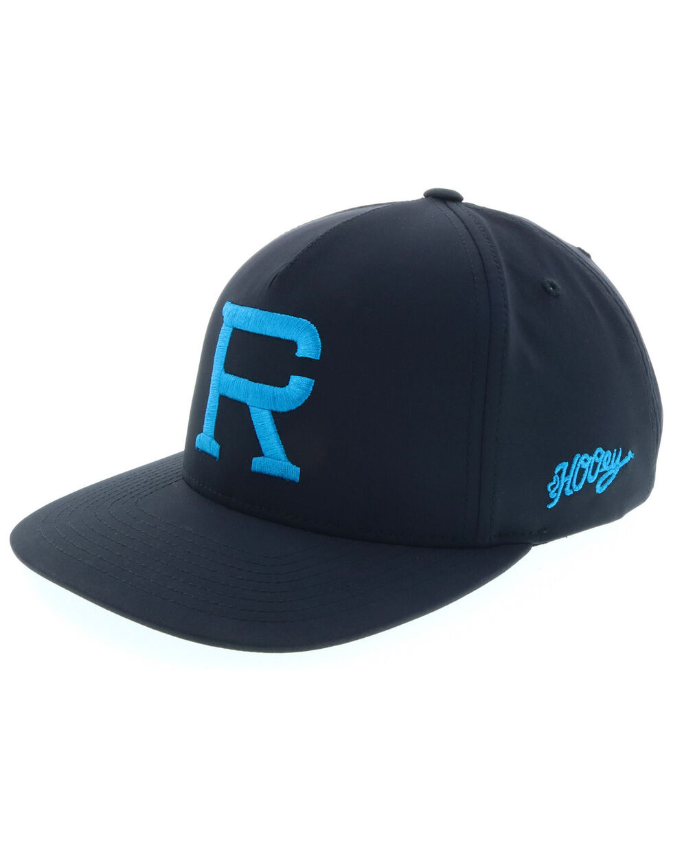 HOOey Men' Richie Champ Black Trucker Cap, Black, hi-res