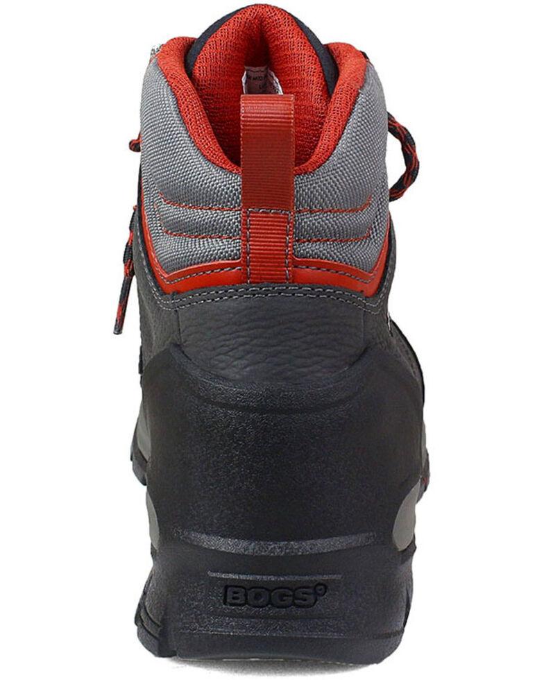 Bogs Men's Bedrock Waterproof Work Boots - Round Toe, Black, hi-res