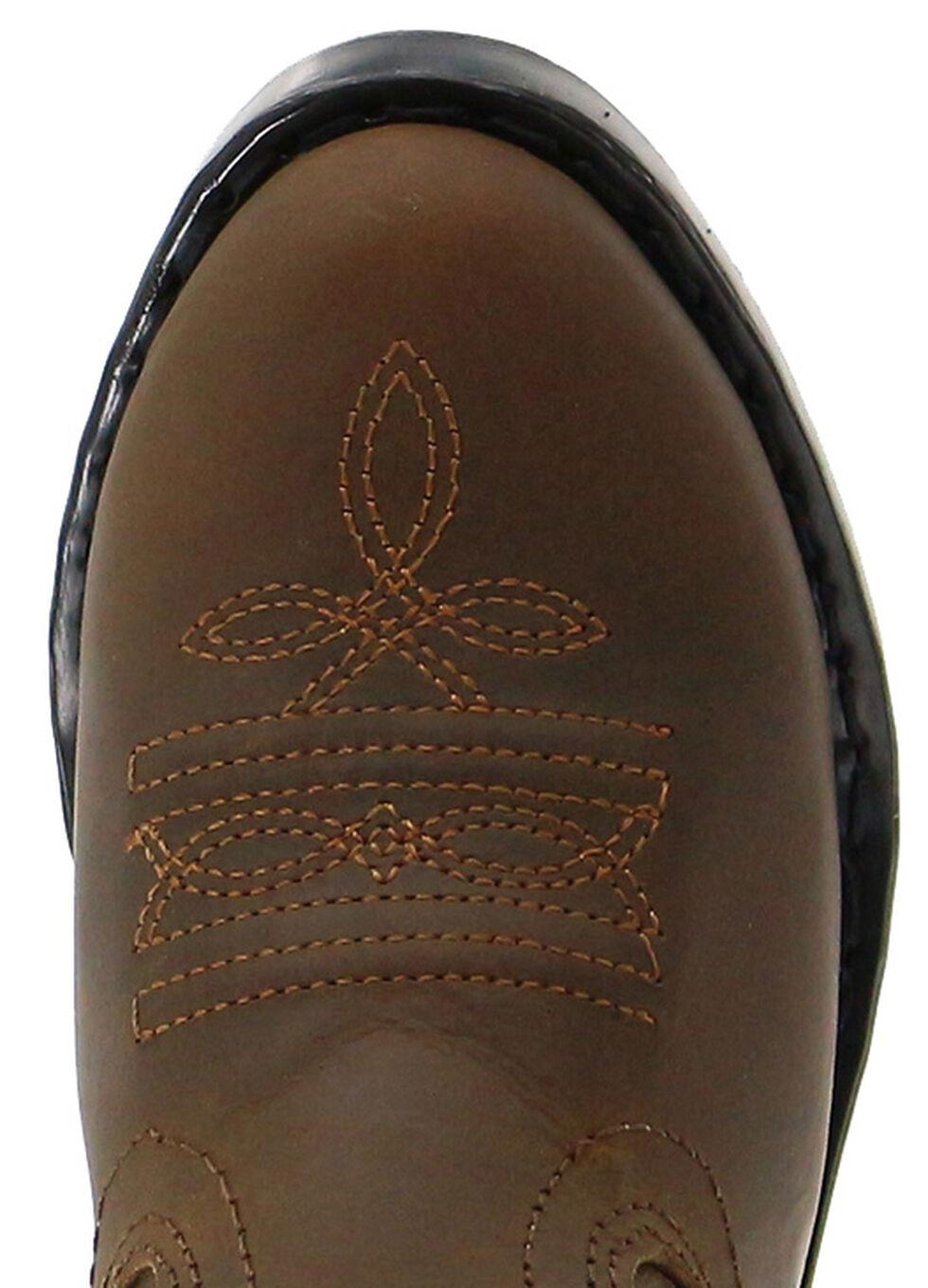 Cody James Children's Brown Western Boots  - Round Toe, Brown, hi-res