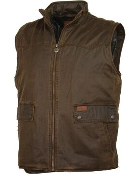 Outback Trading Co. Landsman Vest, Brown, hi-res
