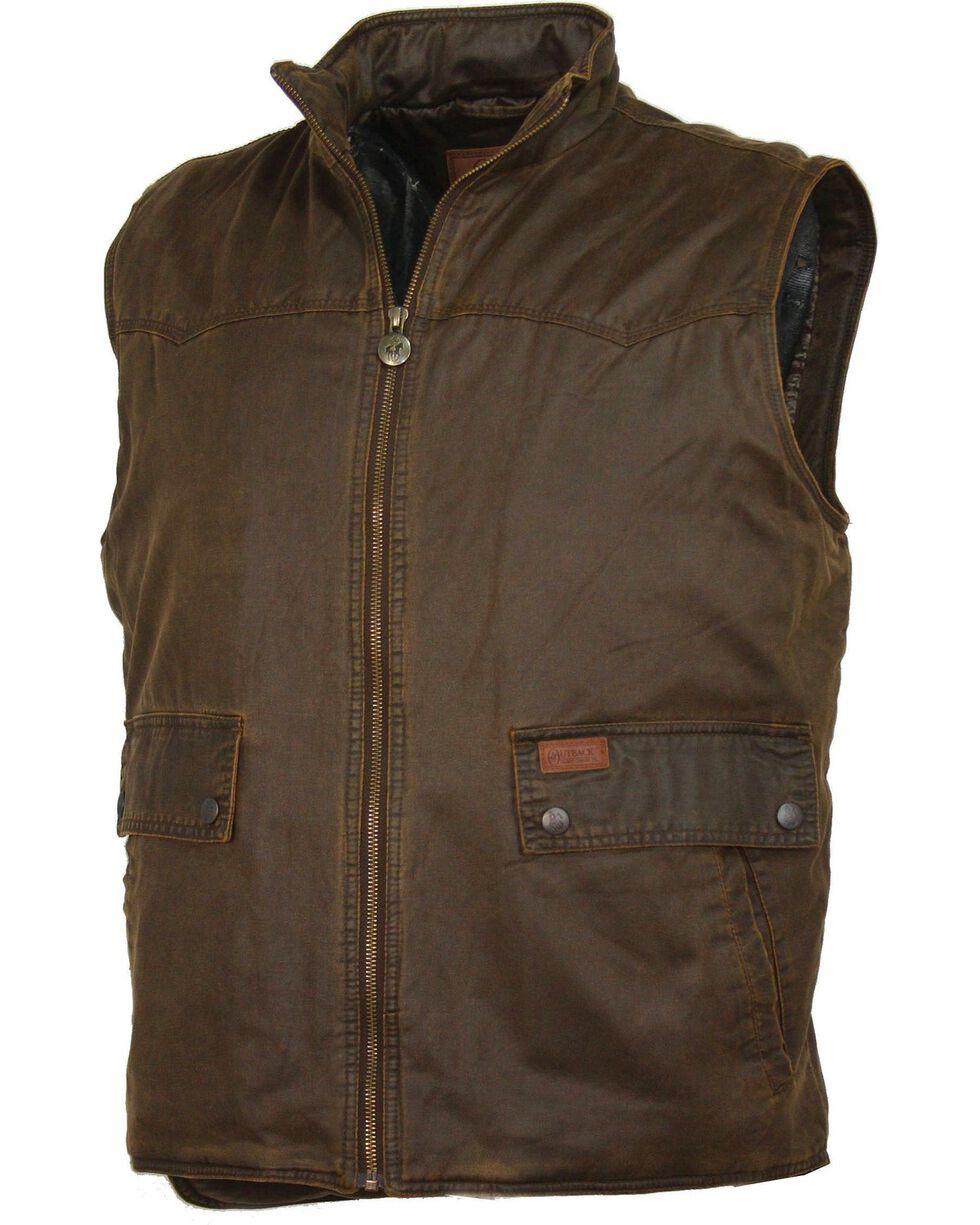 Outback Trading Co. Landsman Vest, Brown, hi-res