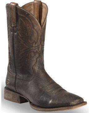 Ariat Men's Distressed Brown Circuit Dayworker Western Boots - Square Toe, Brown, hi-res