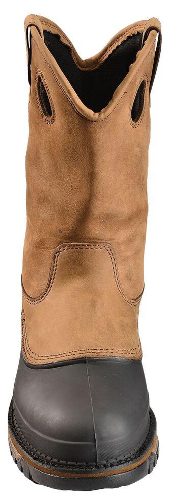 Georgia Mud Dog Waterproof Pull-On Work Boots - Steel Toe, Brown, hi-res