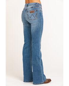 Wrangler Women's Retro Mae High Rise Flare Jeans, Blue, hi-res