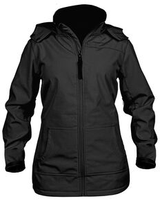 STS Ranchwear Women's Barrier Softshell Jacket - Plus, Black, hi-res