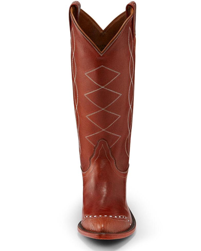 Tony Lama Women's Cognac Emilia Western Boots - Pointed Toe, Cognac, hi-res