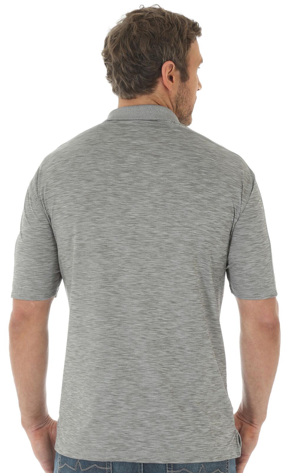 Wrangler 20X Men's Grey Advanced Comfort Performance Polo , Grey, hi-res