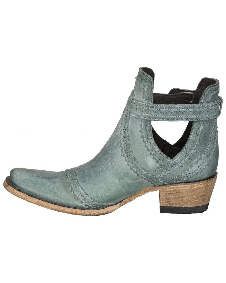 Lane Women's Cahoots Fashion Booties - Snip Toe, Turquoise, hi-res