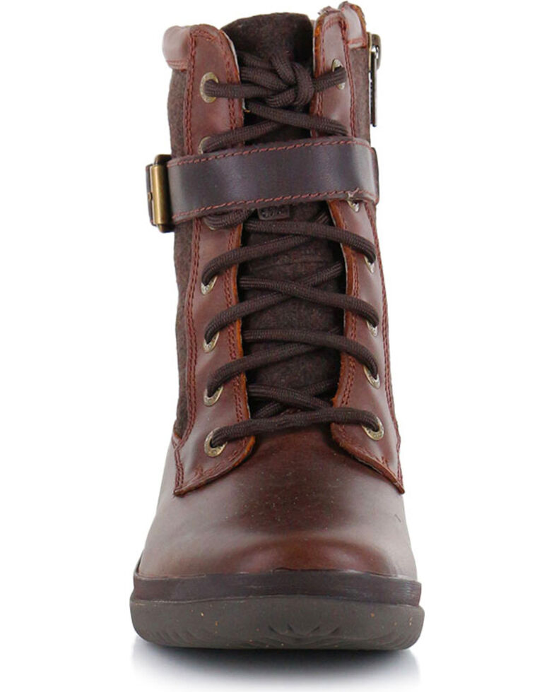 UGG Women's Kesey Waterproof Fashion Boots, Chestnut, hi-res