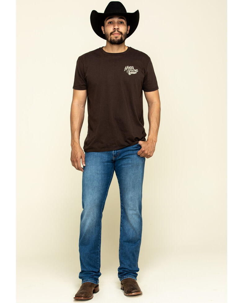 Wrangler Retro Men's San Benito Stretch Slim Straight Jeans - Long , Blue, hi-res