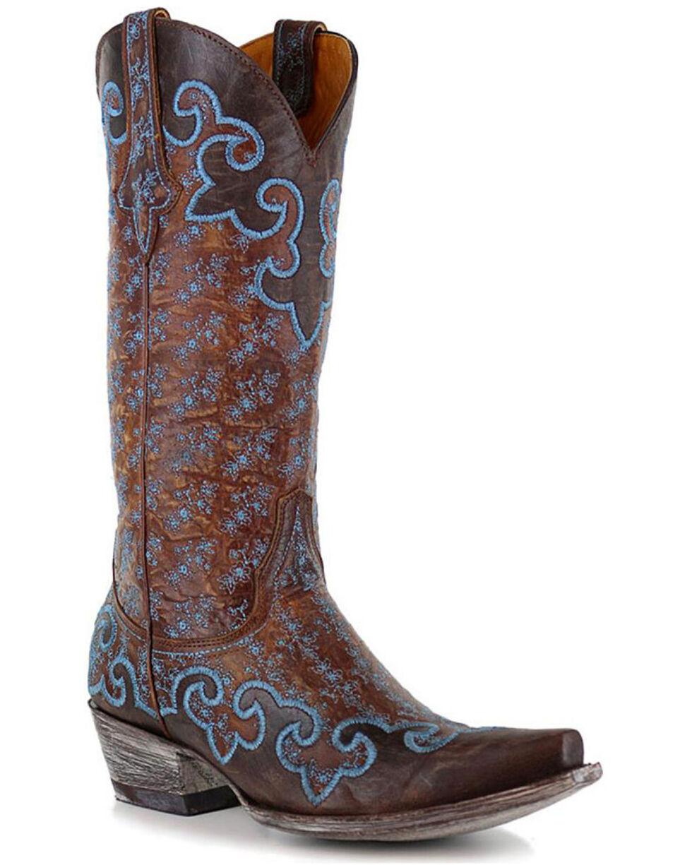 Old Gringo Women's Lynette Western Boots, Brown, hi-res
