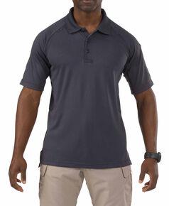5.11 Tactical Performance Polo Short Sleeve Shirt - 3XL, Charcoal Grey, hi-res