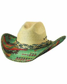 Bullhide Women's Jeopardy Straw Hat, Natural, hi-res