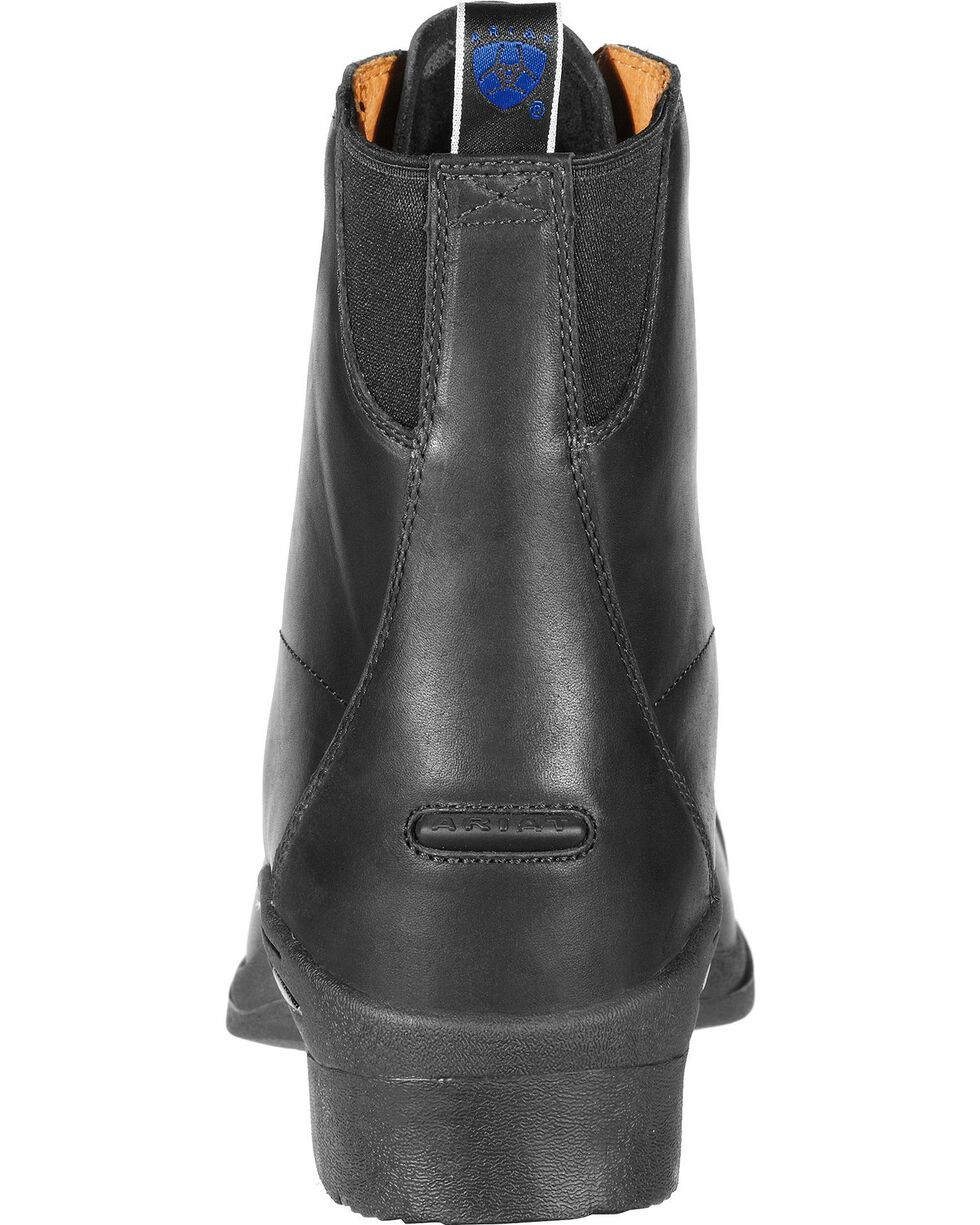 Ariat Performer Pro Lace-Up Boots - Round Toe, Black, hi-res