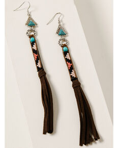 Idyllwind Women's All That Moves Tassel Earrings, Multi, hi-res