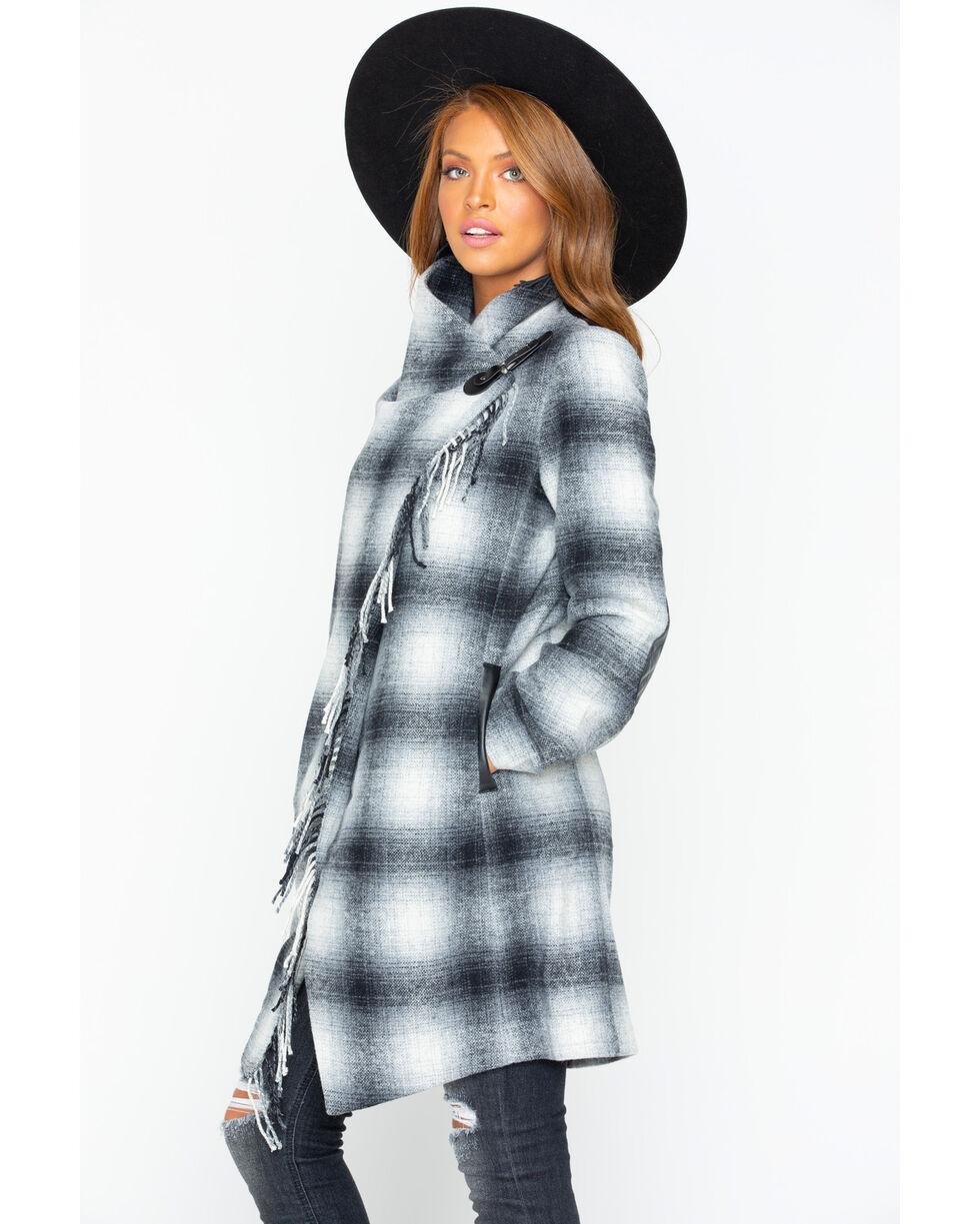 Tasha Polizzi Women's Oxford Coat, White, hi-res