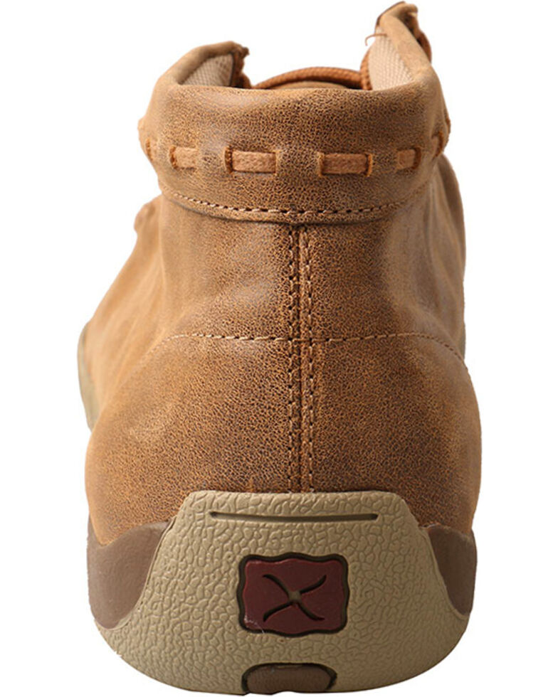 Twisted X Men's Bomber Driving Moccasins - Moc Toe , Taupe, hi-res