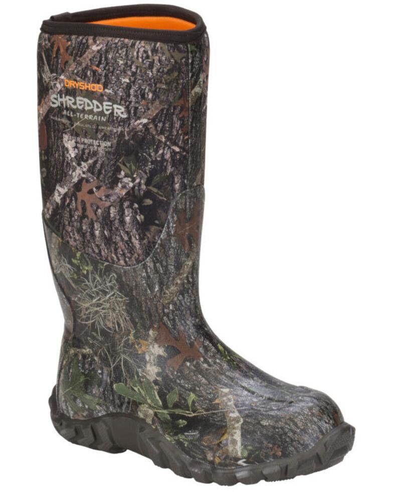 Dryshod Men's Shredder Men's Hunting Boots, Camouflage, hi-res