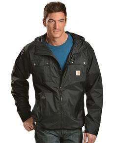 Carhartt Men's Rockford Nylon Work Jacket, Black, hi-res