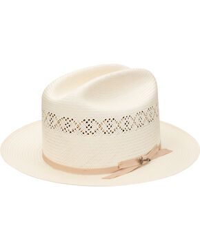 Stetson Men's Natural Open Road 1 Straw Hat , Natural, hi-res