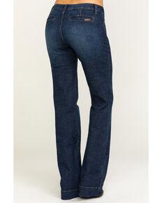 Wrangler Retro Women' s Medium Ruby Mae Trousers , Blue, hi-res