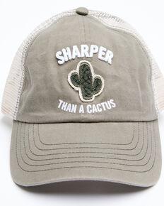 Idyllwind Women's Sharper Than A Cactus Baseball Cap , Olive, hi-res