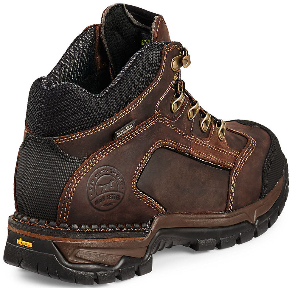 Irish Setter by Red Wing Shoes Men's Two Harbors EH Waterproof Work Boots - Soft Toe , Brown, hi-res