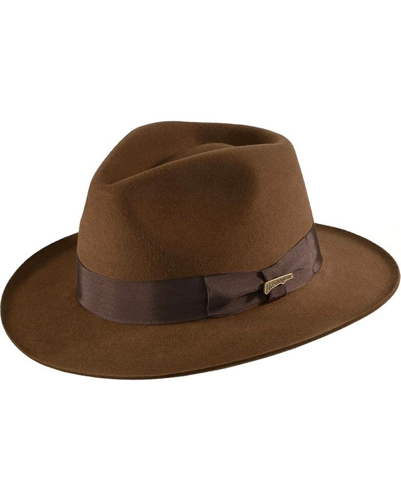 Indiana Jones Fur Felt Fedora Hat - Country Outfitter 53598d95c4a