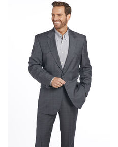 Circle S Men's Grey Slate Sportcoat, Grey, hi-res
