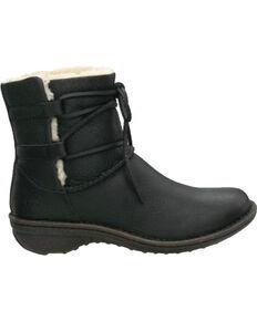 UGG Women's Caspia Lace Boots, Black, hi-res