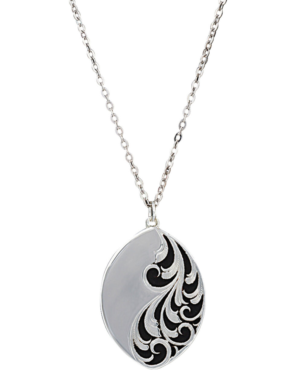 Montana Silversmiths A Night's Breeze Necklace, Silver, hi-res