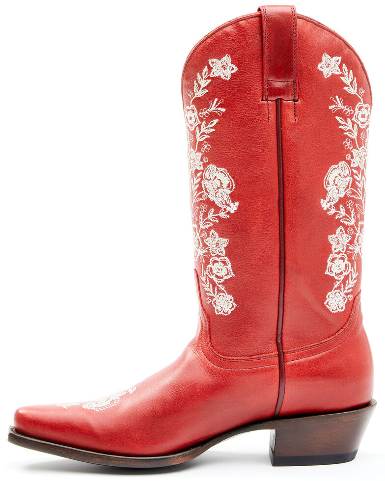 Shyanne Women's Willa Western Boots - Snip Toe, Red, hi-res