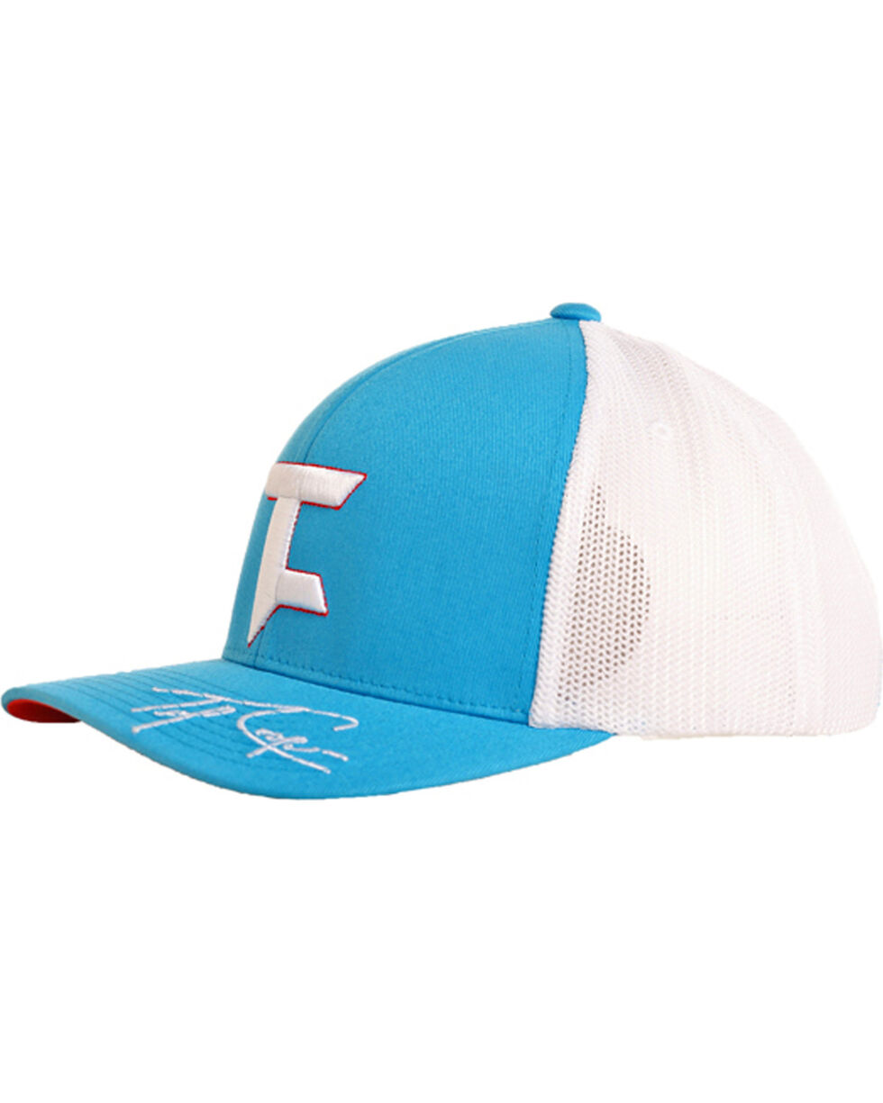 Tuf Cooper Men's Sky Blue Mesh Logo Cap , Light Blue, hi-res
