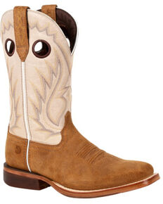 Durango Men's Arena Pro Western Boots - Square Toe, Coffee, hi-res
