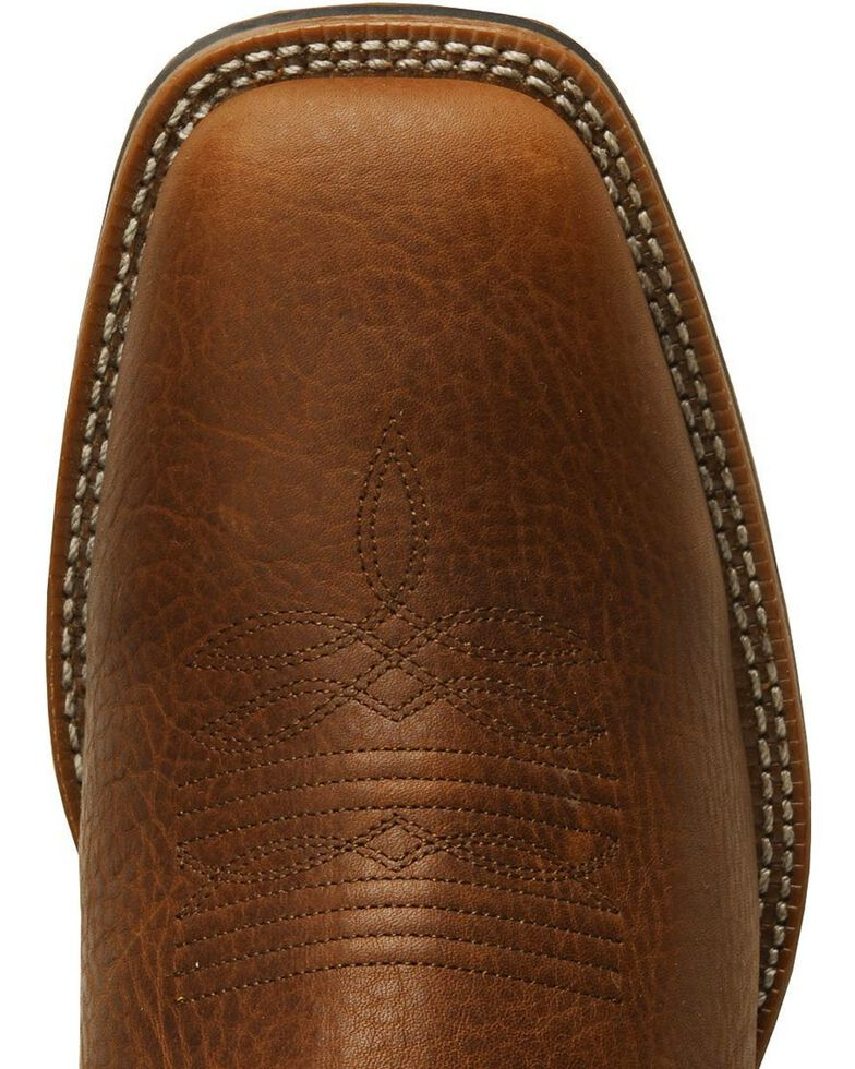 Laredo Rancher Cowboy Boots - Square Toe, Redwood, hi-res