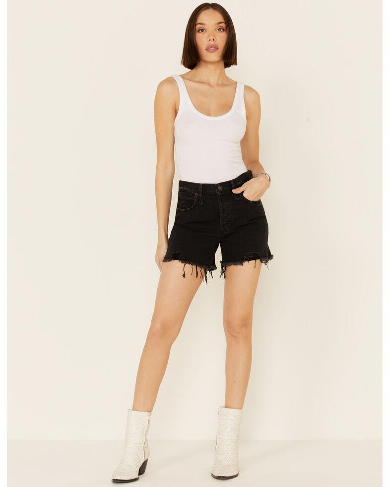 Free People Women's Makai Cutoff Shorts, Black, hi-res