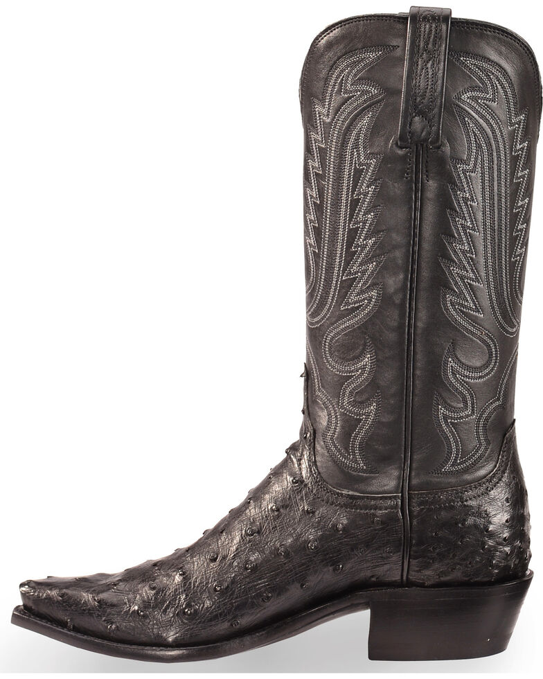 6d94c686719 Lucchese Black Ostrich Boots - Best Picture Of Boot Imageco.Org