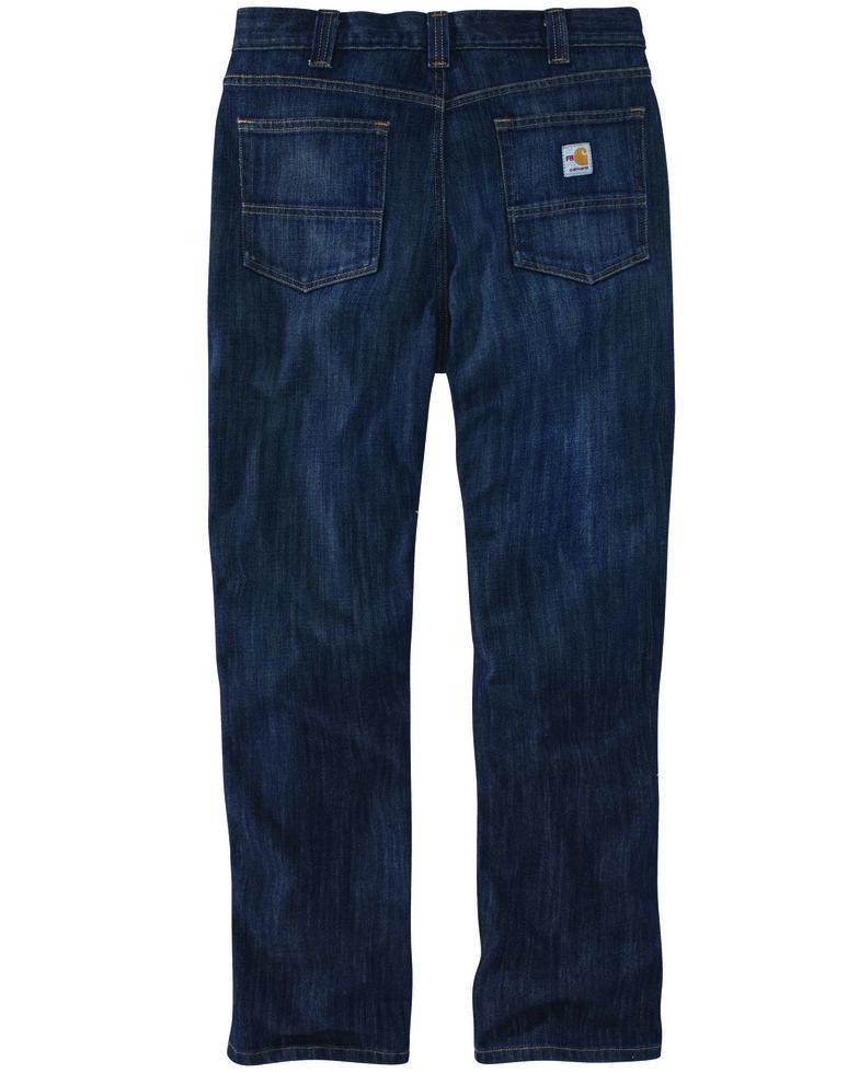 Carhartt Men's FR Force Rugged Flex Relaxed Work Jeans , Sand, hi-res