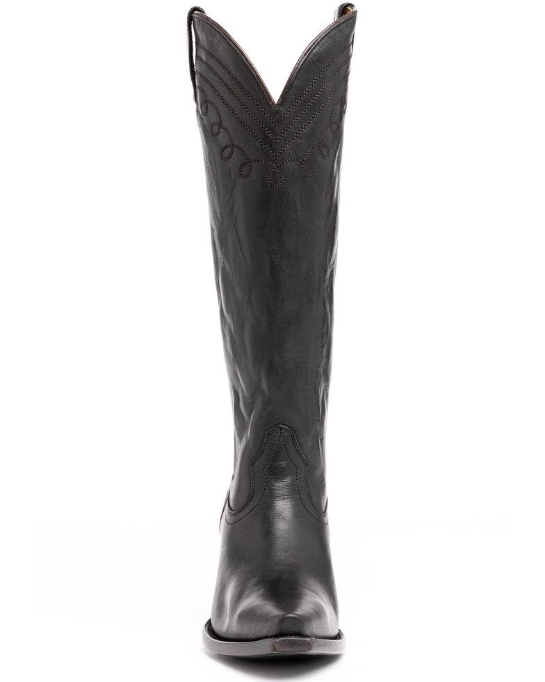 Shyanne Women's Iris Western Boots - Snip Toe, Black, hi-res