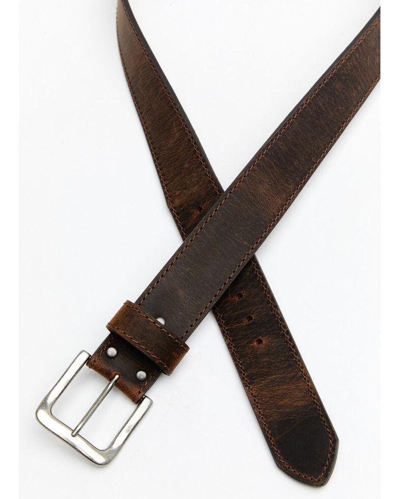 Hawx® Men's Extra Wide Work Belt, Brown, hi-res